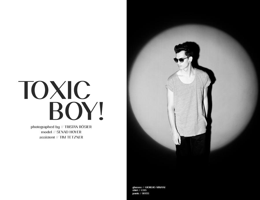 Tristan Rösler Shoots Senad Hoyer as 'Toxic Boy'