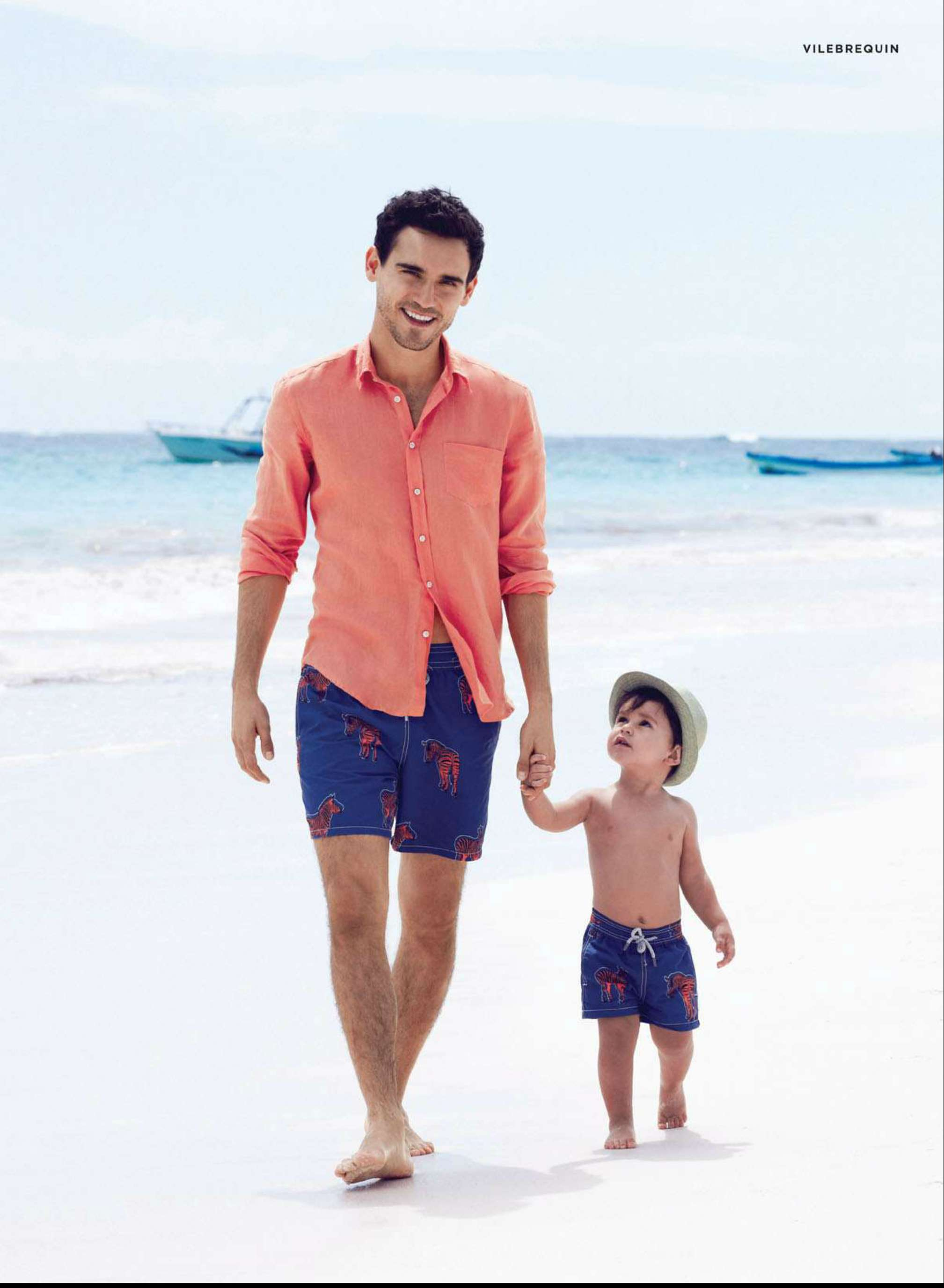 Arthur Kulkov Appears in Bloomingdale's 2013 Father's Day Campaign