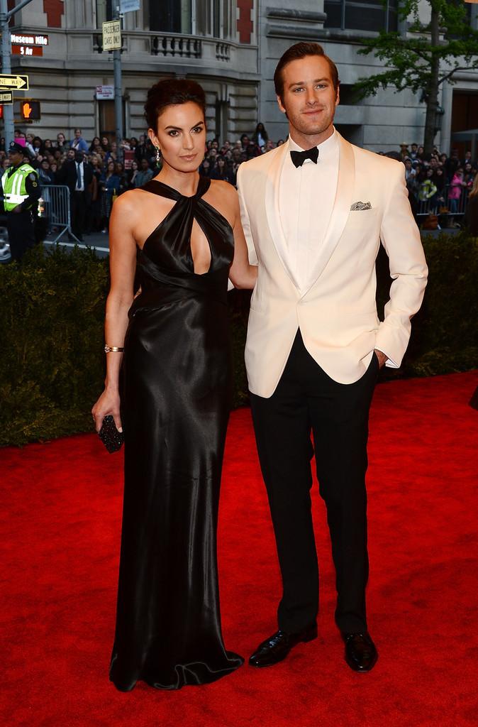 Armie Hammer Wears Ralph Lauren to 2013 Met Gala