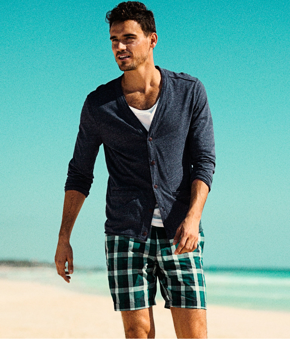 A Relaxed Arthur Kulkov Dons H&M's Summer 2013 Collection
