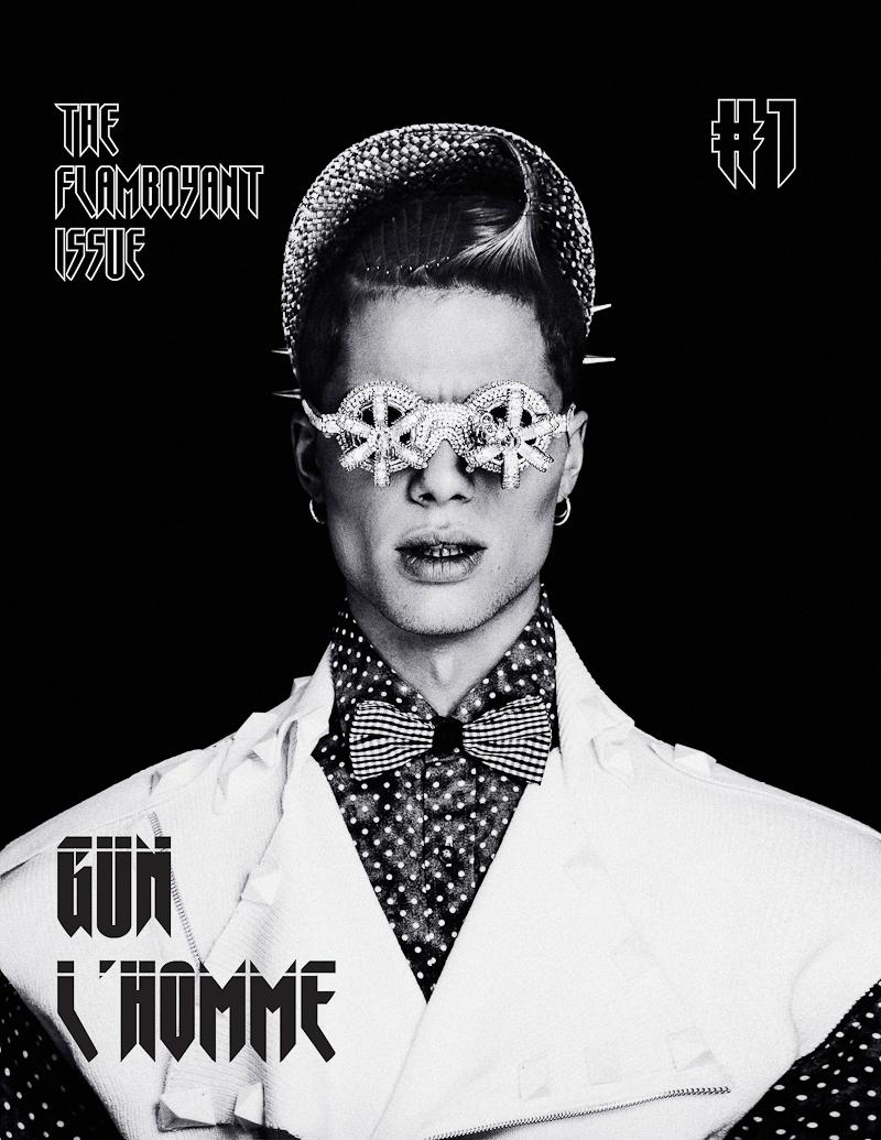 Lucas Valerdi & Arthur Defays Tackle Color & Patterns for Gun L'Homme Magazine