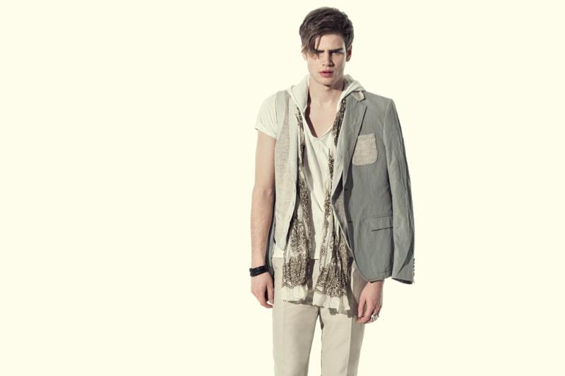 Malte Paulsen & Michael Liboni Star in David Mayer Naman's Spring/Summer 2013 Campaign