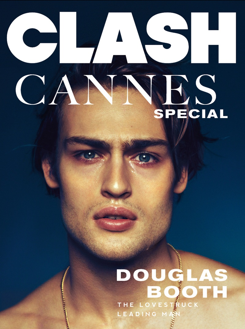 Douglas Booth Covers the Latest Issue of Clash Magazine with Real Tears
