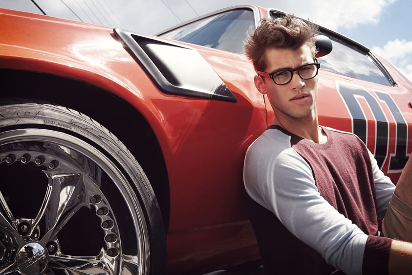 Kacey Carrig Exudes American Style for Chevignon Heritage's Spring/Summer 2013 Campaign