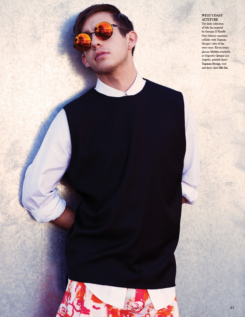 Kevin McHale by Aaron Feaver for Fashionisto 7
