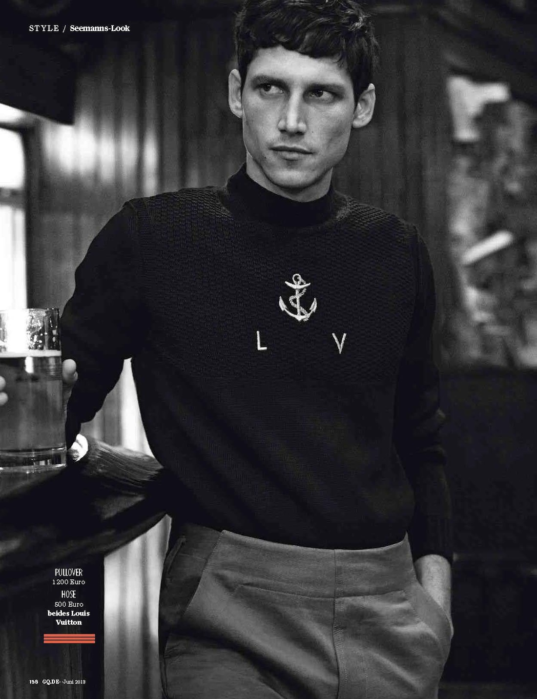 Roch Barbot Embraces Nautical Styles for German GQ