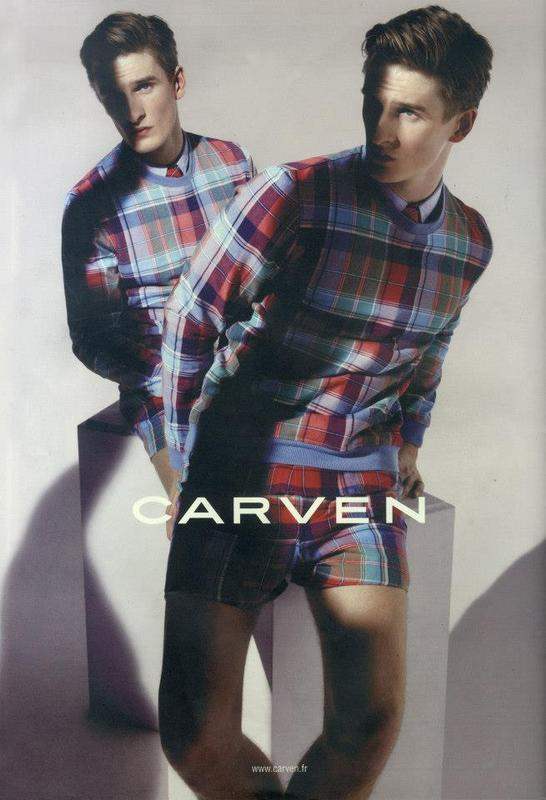 Thomas Sottong for Carven Spring/Summer 2013 Campaign