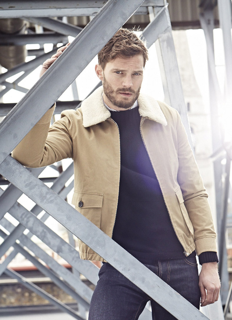 Times Style Mag: Jamie Dornan Returns To Modeling Roots For Sunday Times