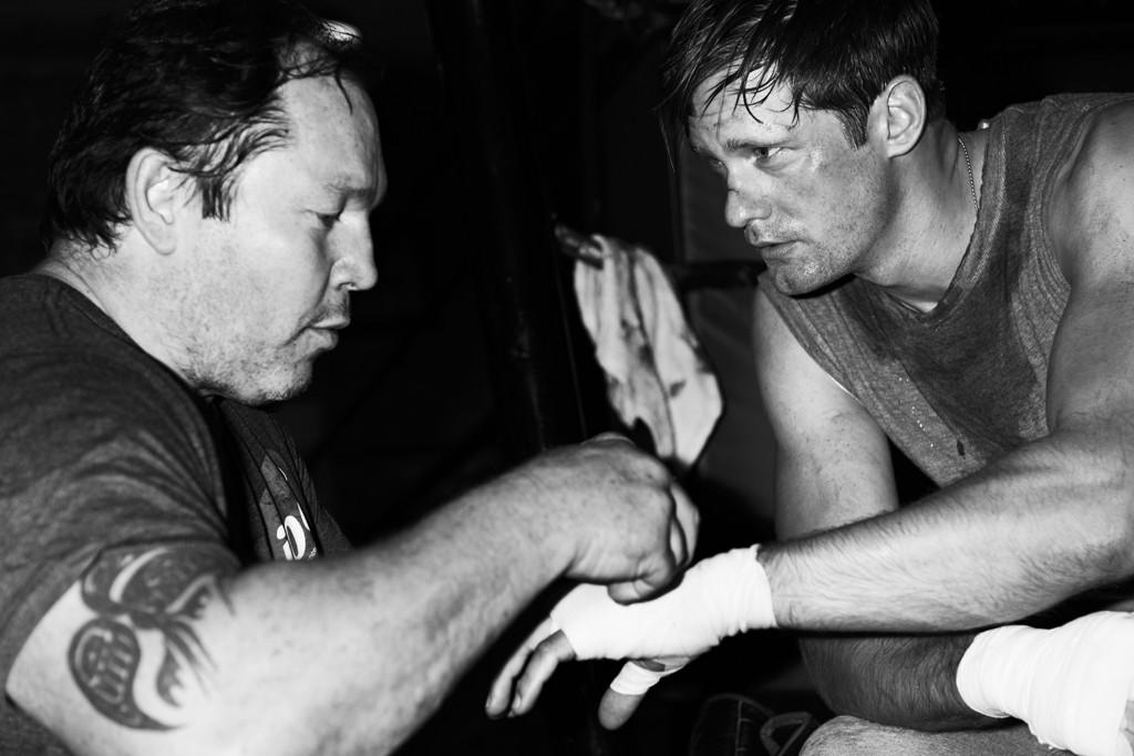 Alexander Skarsgård Jumps in the Boxing Ring for M Magazine