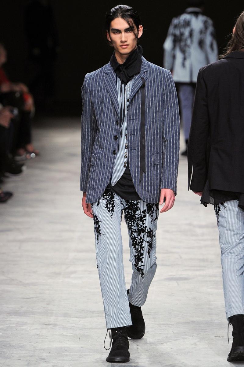 Ann Demeulemeester Spring/Summer 2014 Menswear | Paris Fashion Week image