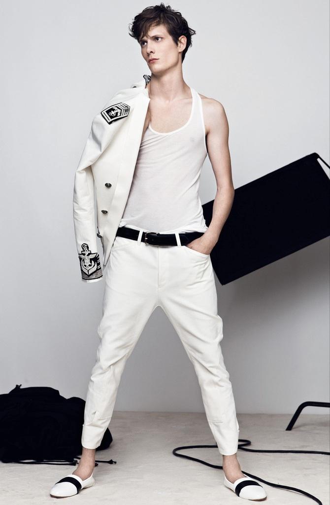 Balmain Spring/Summer 2014 Menswear image