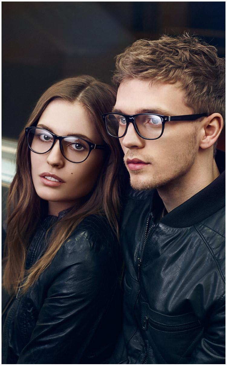 Benjamin Eidem Fronts Hugo Boss Orange Fall/Winter 2013 Eyewear Campaign