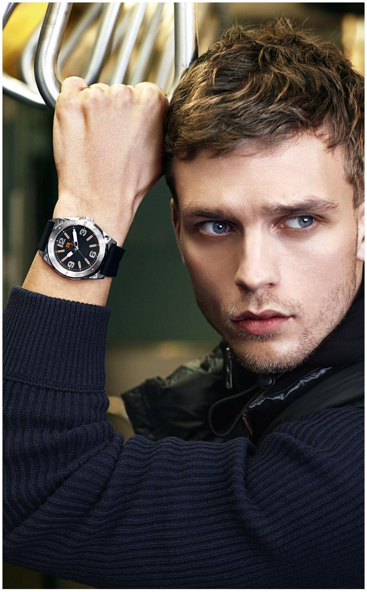 Benjamin Eidem Stars in Hugo Boss Orange Fall/Winter 2013 Watches Campaign