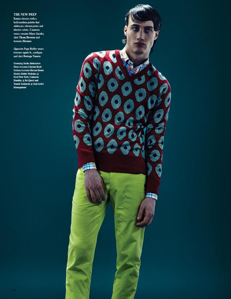 Bobby Nicholas, Cameron Handley & Tomek Szalanski by John Burke for Fashionisto #7