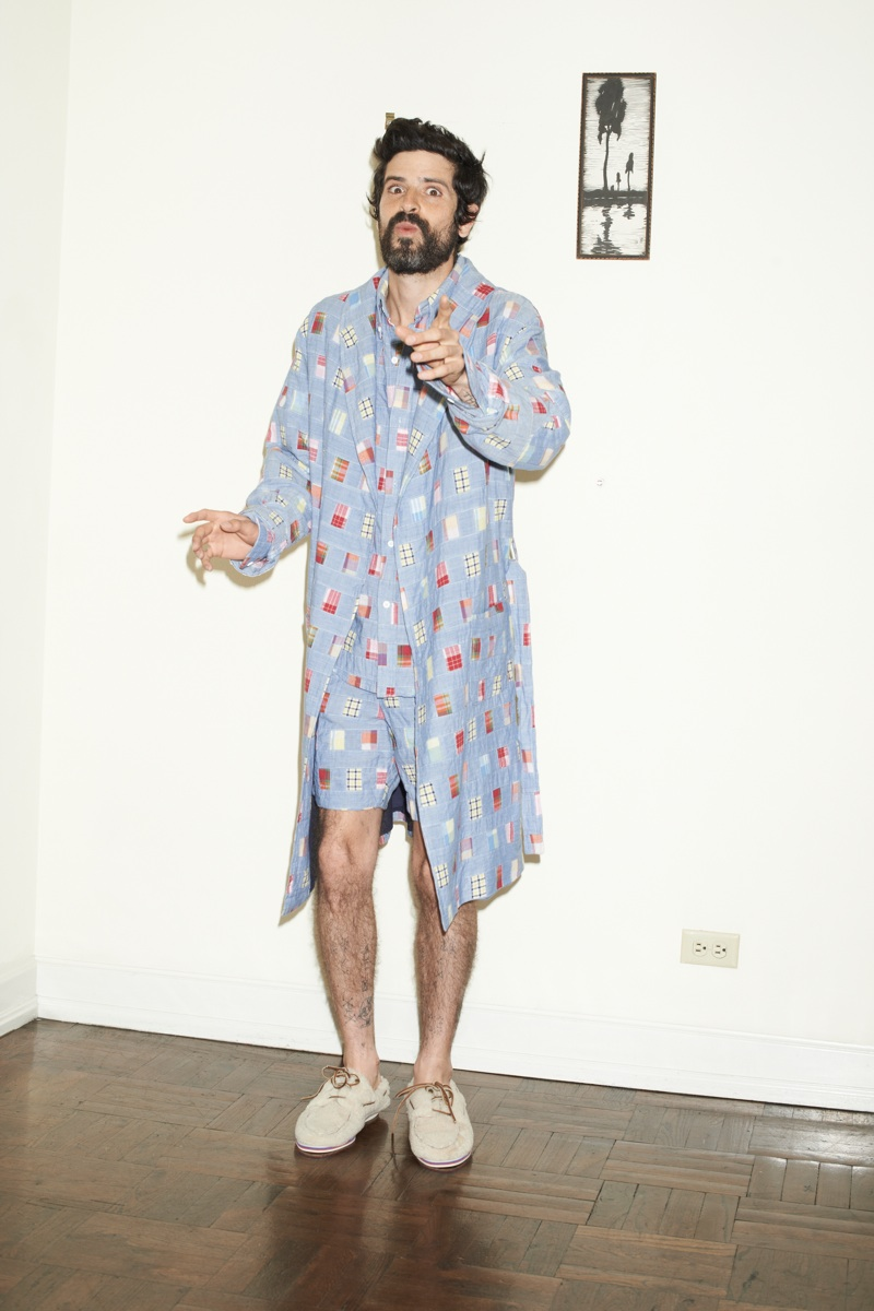 Devendra Banhart for Band of Outsiders Spring/Summer 2014