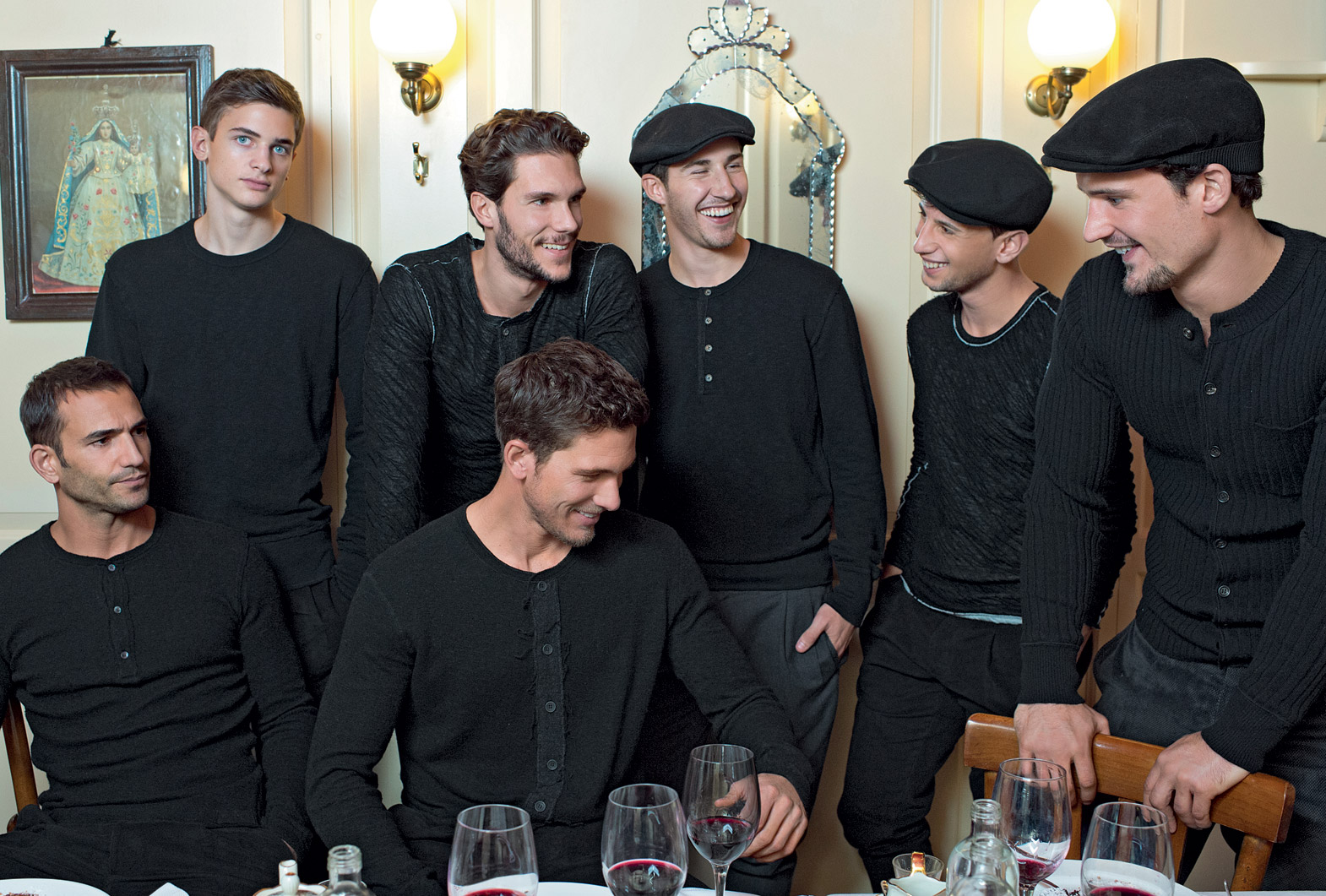 Adam Senn, Will Chalker, Sam Webb & Others Pose for Dolce & Gabbana Fall/Winter 2013 Lookbook