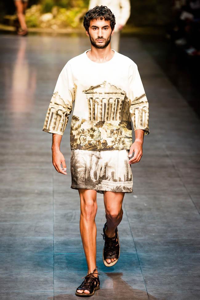 Dolce & Gabbana Spring/Summer 2014 Menswear | Milan Fashion Week