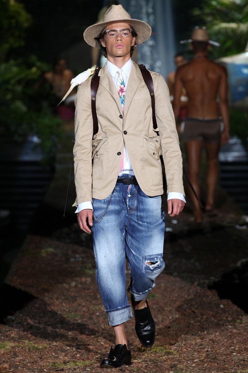 Dsquared2 Spring/Summer 2014 Menswear | Milan Fashion Week image
