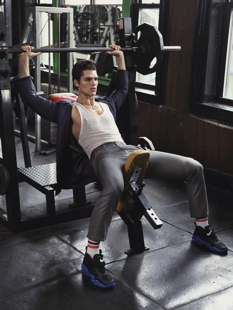 Brian Shimansky is Sporty Chic for Dress To Kill