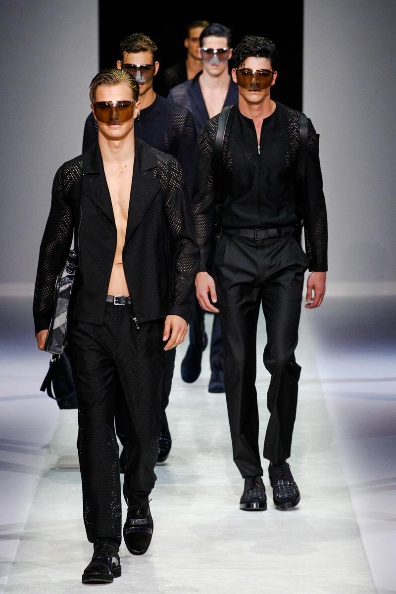 Emporio Armani Spring/Summer 2014 | Milan Fashion Week image