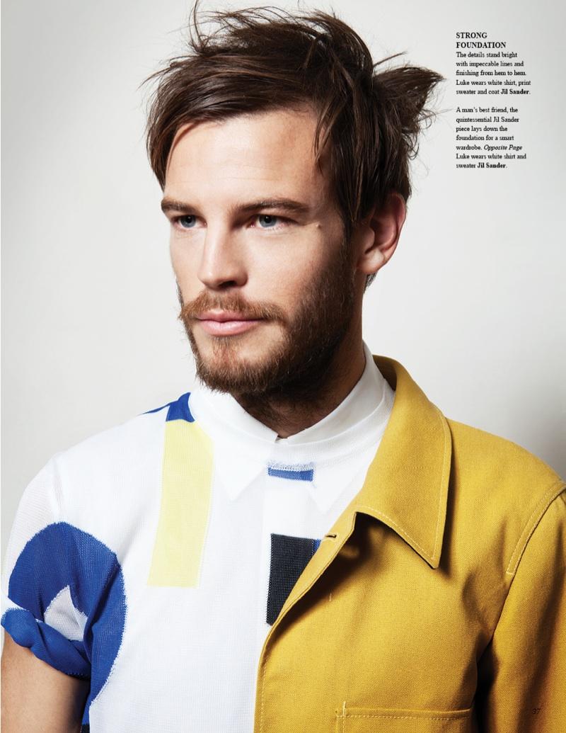 Luke Nel by Jay Schoen in Jil Sander for Fashionisto #7