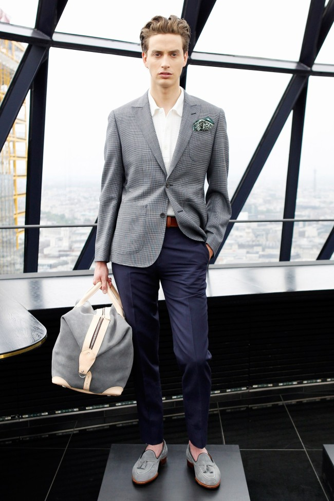 Hardy Amies Spring/Summer 2014   London Collections: Men