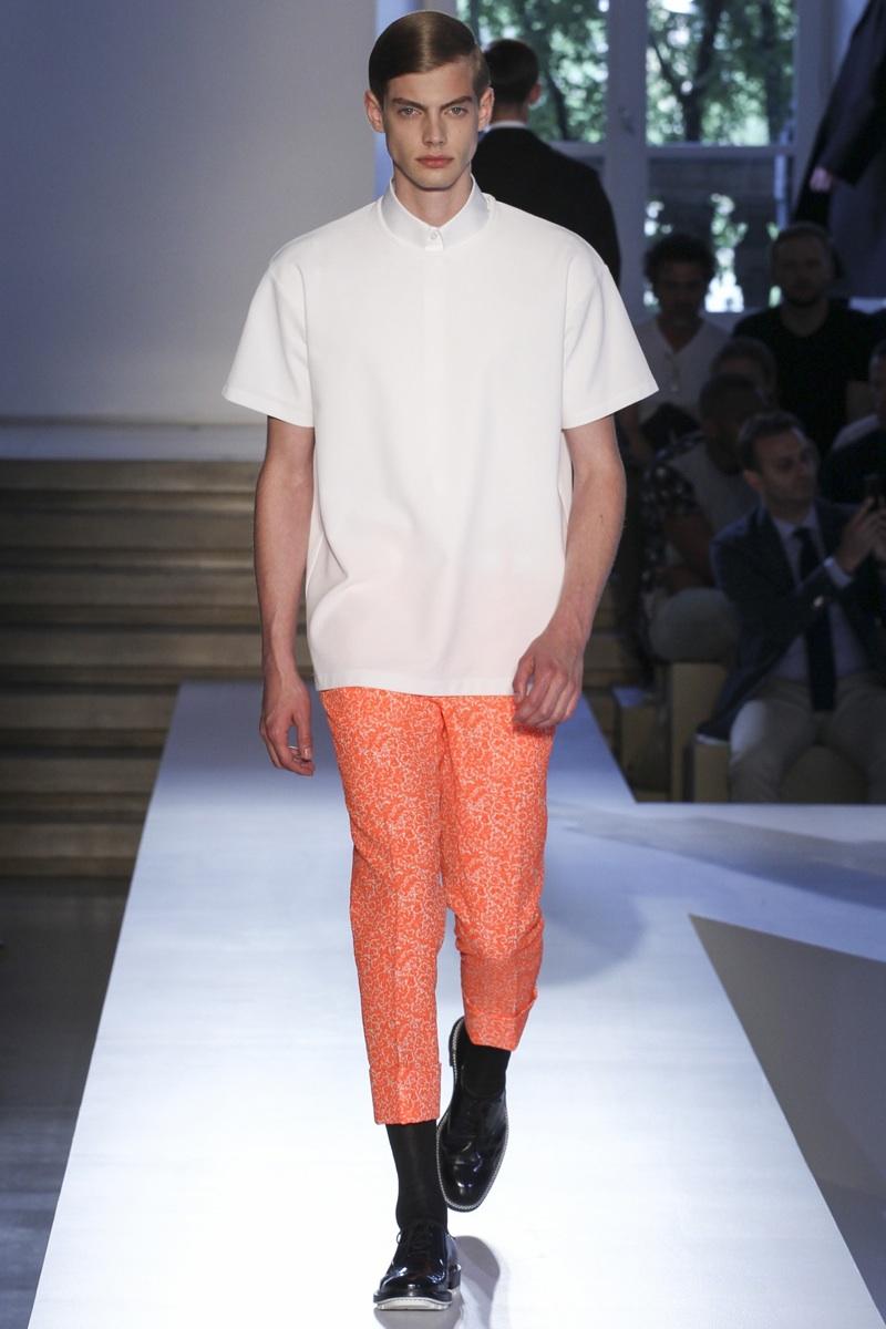 Jil Sander Spring/Summer 2014 Menswear   Milan Fashion Week