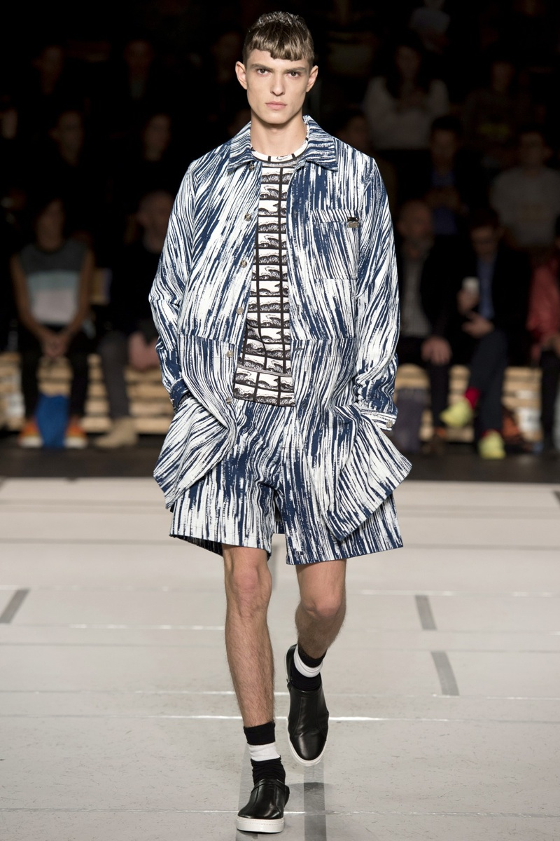 2014 Fashion Trends For Teens 2014 2015: Kenzo Spring/Summer 2014 Menswear