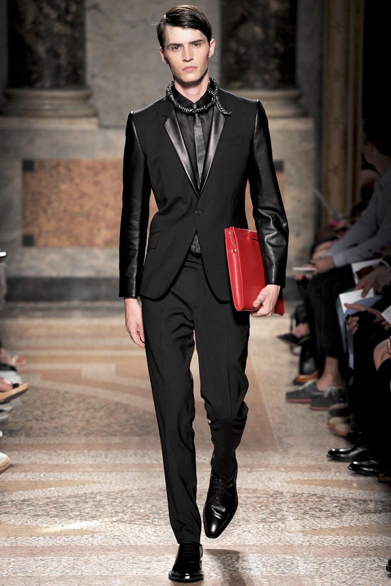 nouveau produit 05247 473a1 Les Hommes Spring/Summer 2014 | Milan Fashion Week | The ...