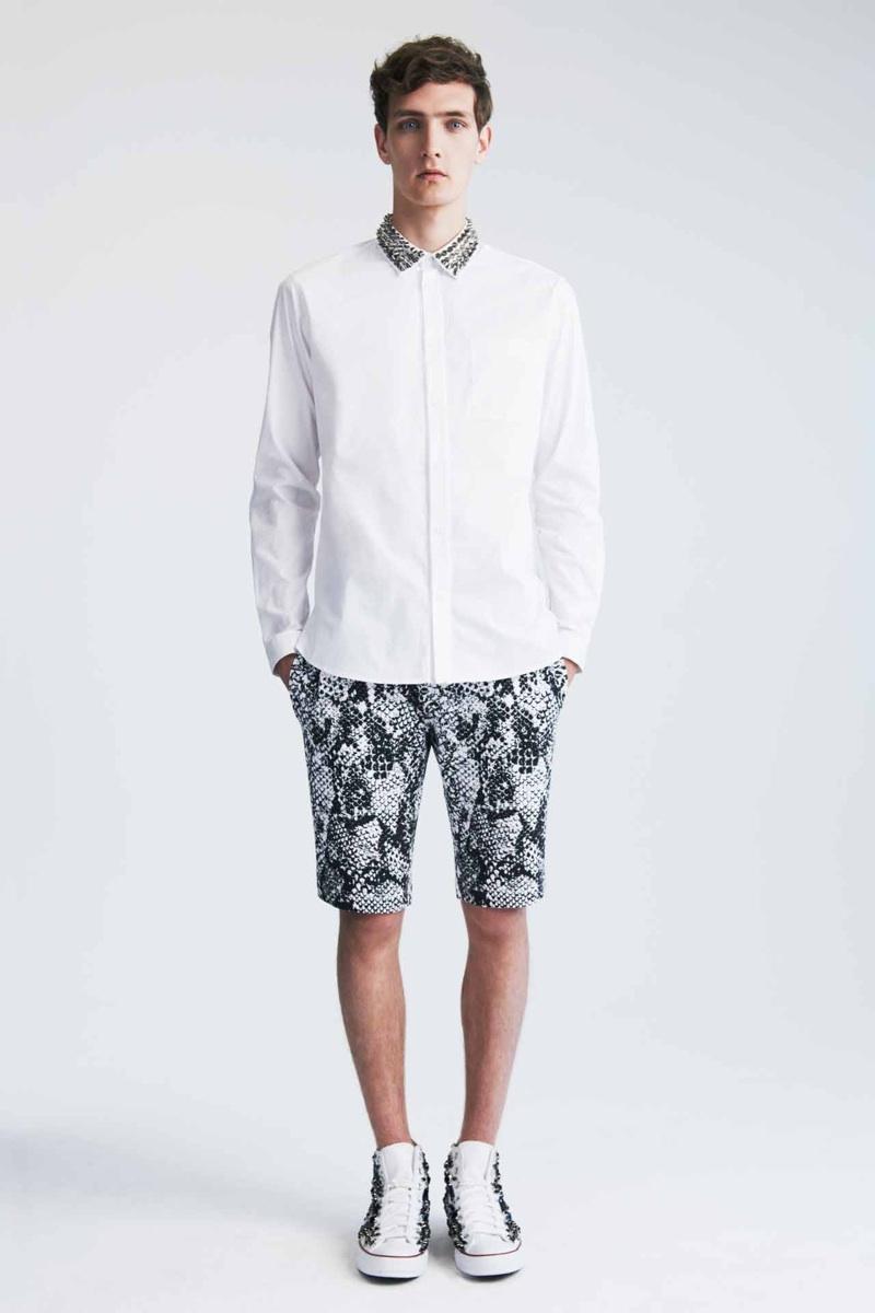 Yannick Abrath Models Markus Lupfer's Spring/Summer 2014 Collection