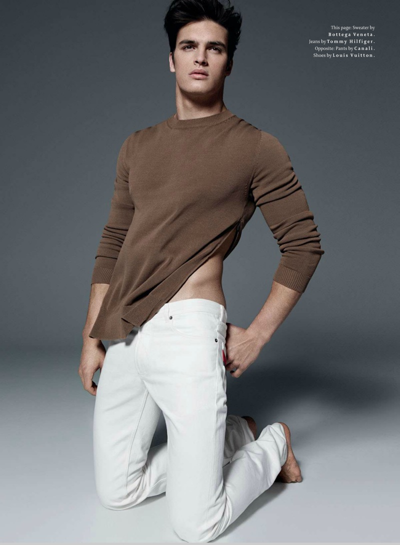 Matthew Terry Sports White Summer Fashions for Details