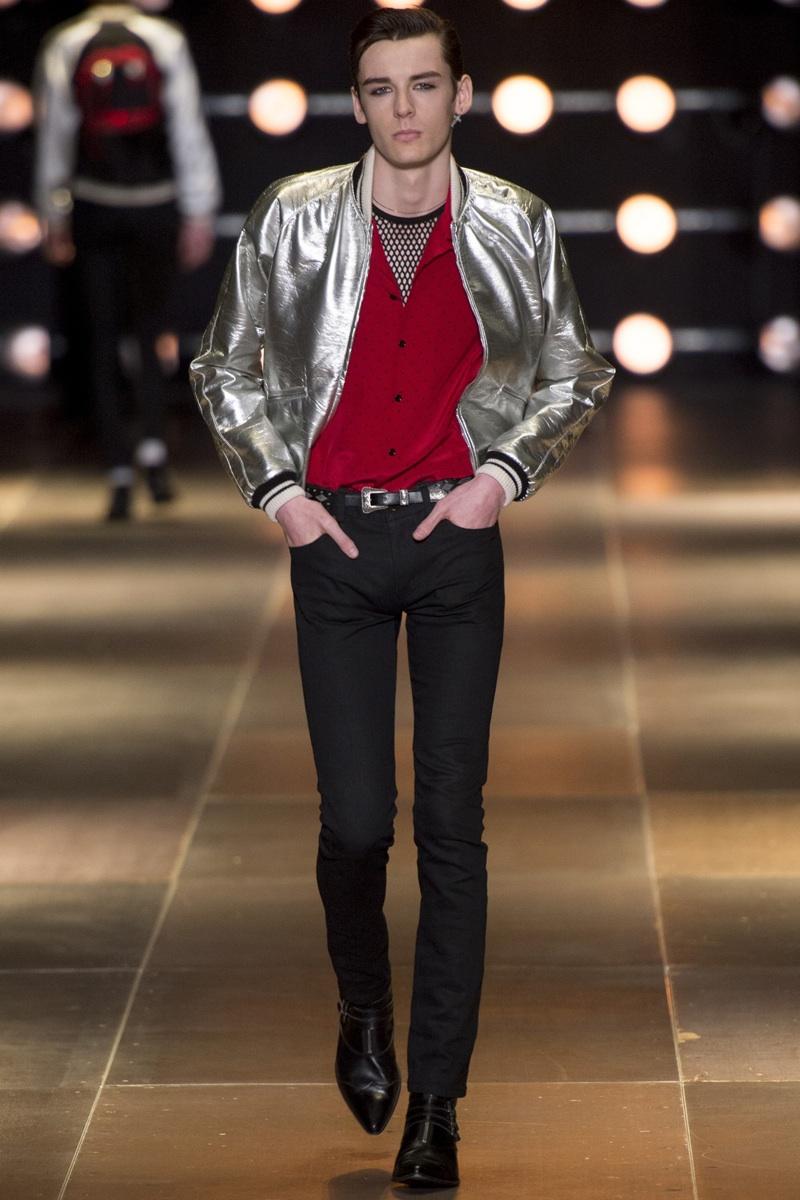 Saint Laurent Spring/Summer 2014 Menswear | Paris Fashion Week image