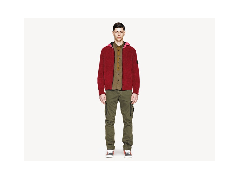 Simone Nobili Models Stone Island's Fall/Winter 2013 Collection