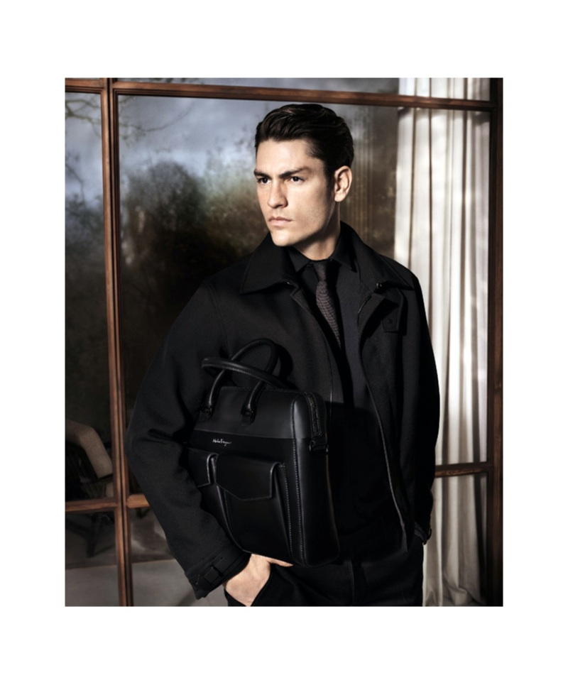 Tyson Ballou Fronts Salvatore Ferragamo Fall/Winter 2013 Menswear Campaign