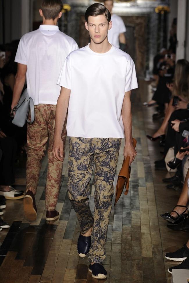 Valentino Spring/Summer 2014 Menswear   Paris Fashion Week