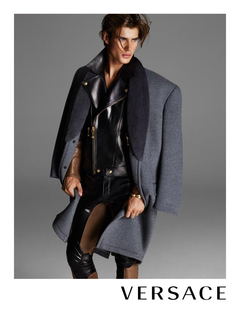 Matt Trethe & Travis Smith Front Versace Fall/Winter 2013 Menswear Campaign