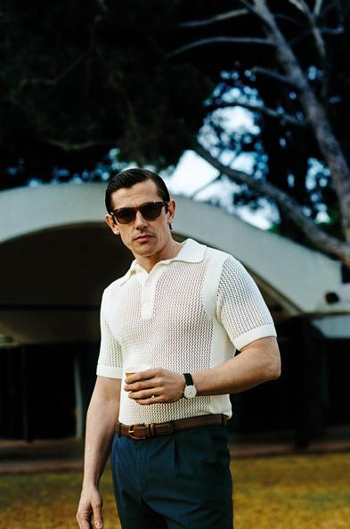Werner Schreyer Wears Sleek Styles for German GQ