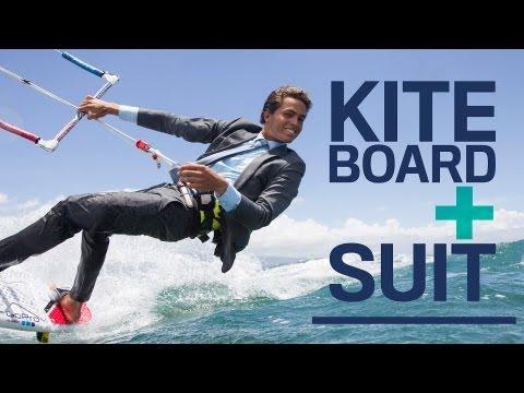 Kai Lenny Kitesurfs in a J.Crew Suit for American GQ