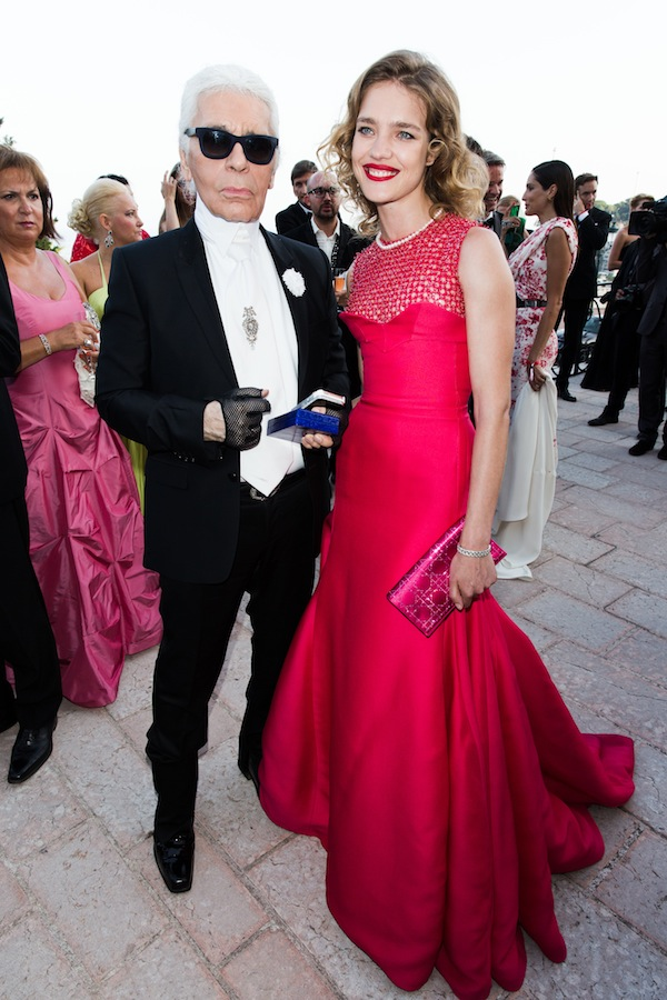 Karl Lagerfeld, Mario Testino, Antoine Arnault & More Attend 2013 Love Ball in Monte-Carlo