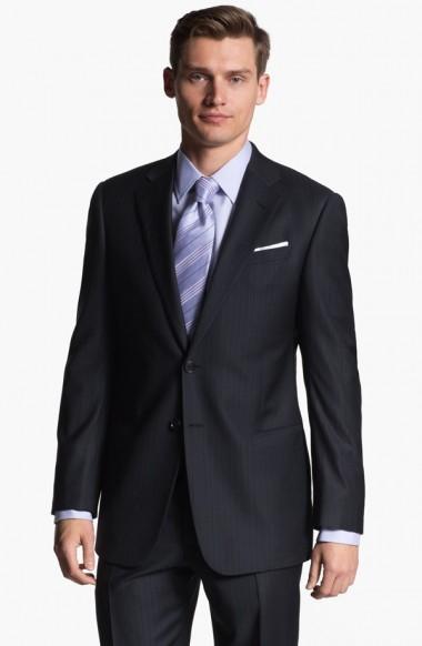 Vladimir Ivanov Suits Up in Armani Collezioni for Nordstrom