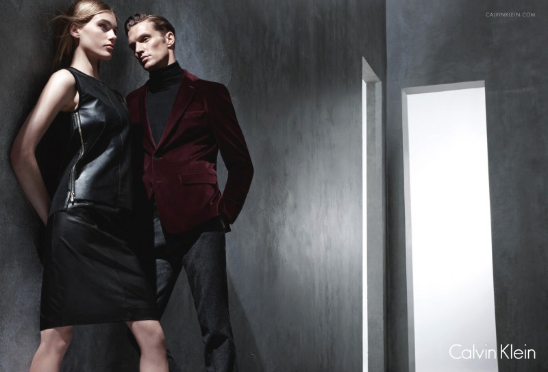 Shaun DeWet Fronts Calvin Klein White Label Fall/Winter 2013 Campaign