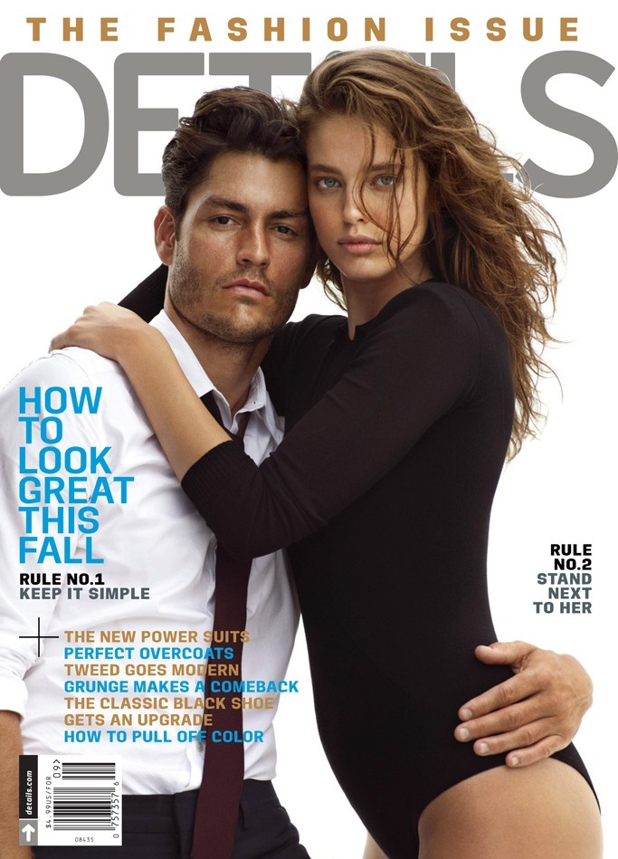 Tyson Ballou Covers the September Issue of Details
