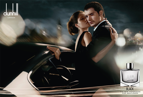 Henry Cavill for Dunhill 'Black' Fragrance Campaign