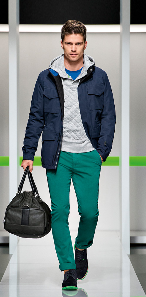 André Ziehe & Michael Camiloto Grace Boss Green Fall/Winter 2013 Look Book image