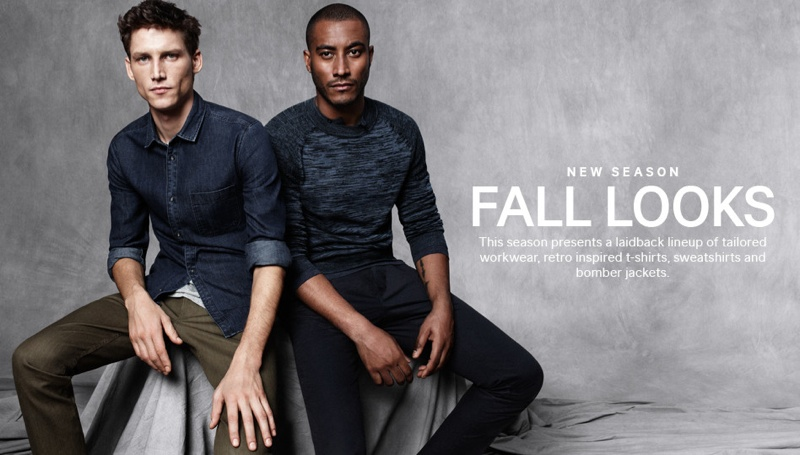 Roch Barbot & Sunnery James Wear New Fall 2013 Looks for H&M