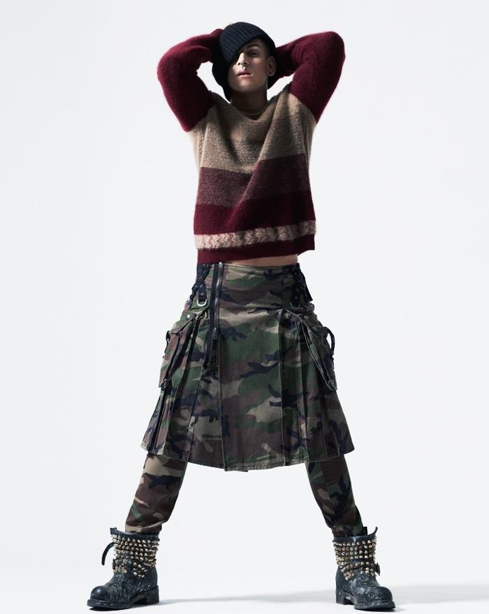 Igor Stepanov for Arena Homme+ Korea