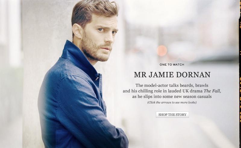 Jamie Dornan for Mr Porter