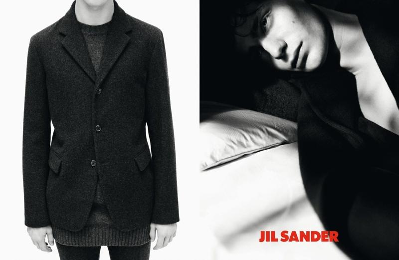 Ben Allen for Jil Sander Fall/Winter 2013 Menswear Campaign