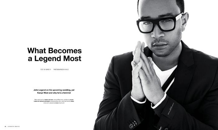 John Legend Covers Scene