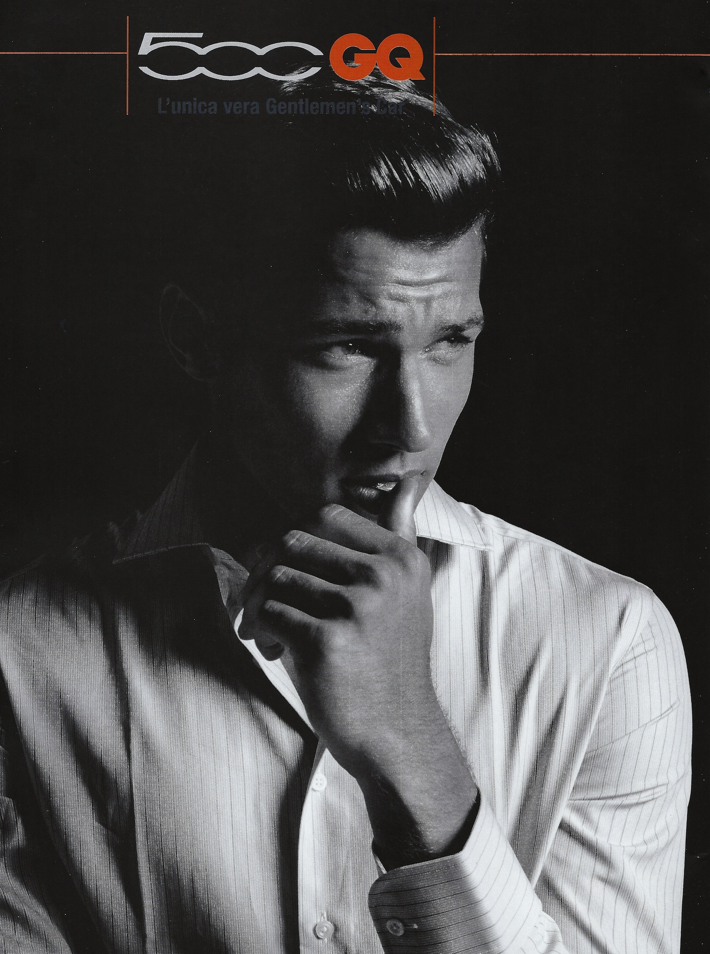 Model Kacey Carrig Introduces the FIAT 500 GQ for Italian GQ